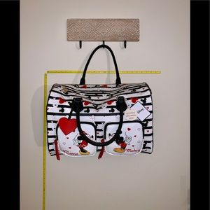 Mickey and Minnie in Love Duffle Bag